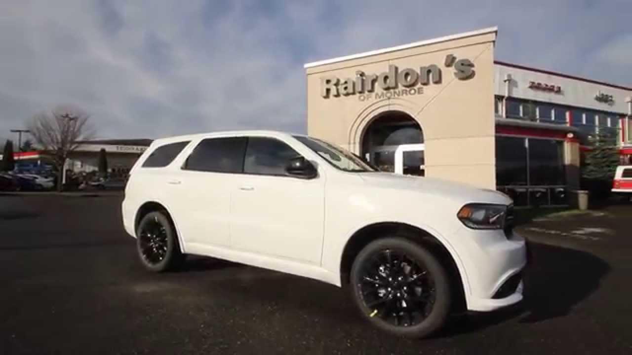 2015 Dodge Durango SXT | White | FC695890 | Everett ...