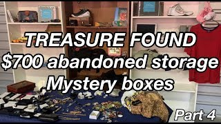 FOUND TREASURE i bought an abandoned storage locker unit SURPRISE MYSTERY UNBOXING