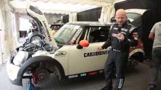 Rasťo Chvála testuje nový Mini Cooper SD a jazdí Mini Challenge
