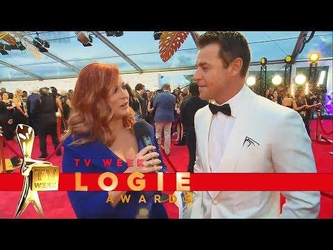 Gold Logie nominee Rodger Corser  TV Week Logie Awards 2018