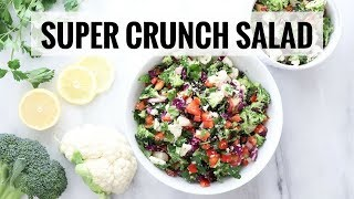 Super Crunch Salad | Easy, Healthy MEAL PREP Recipe | Healthy Grocery Girl