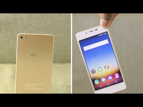 Wiko Highway Pure First Impressions THINNEST PHONE IN THE WORLD?