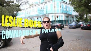 Leslie Does Commander's Palace