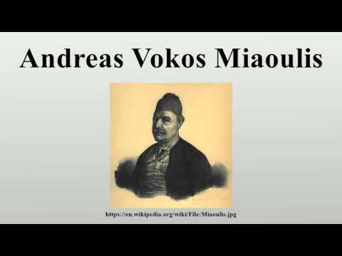 Andreas Vokos Miaoulis