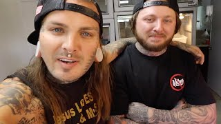 Venomous Snake room tour with Bmayzee and Tyler Nolan!