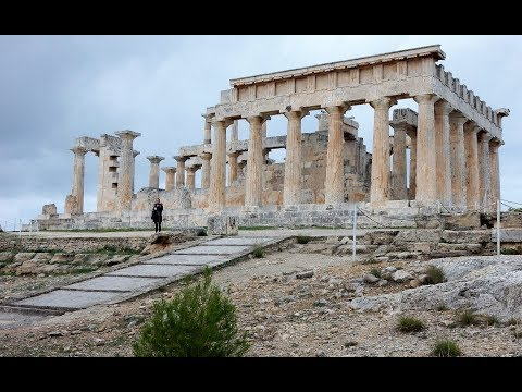 The Temple Of Apollo And Aphaia On Aegina