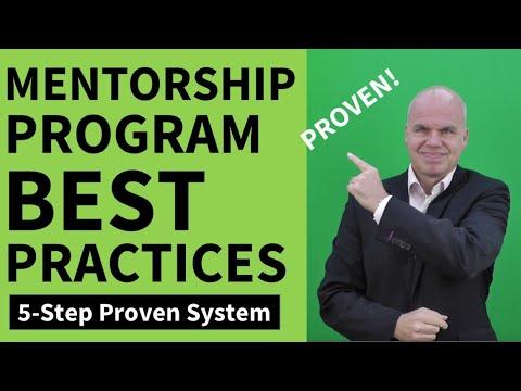 Mentorship Program Best Practices
