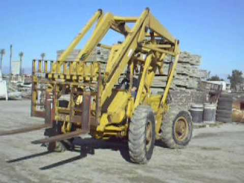 Hyster A80A 4x4x4 High Reach forklift