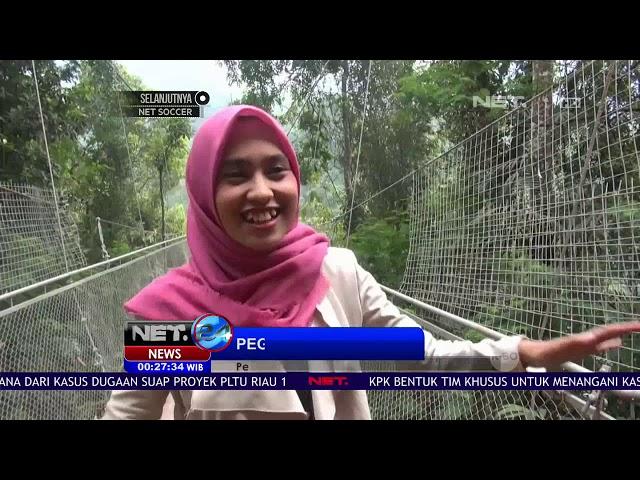 Jembatan Gantung Terpanjang Se Asia Ada di Sukabumi - NET 24