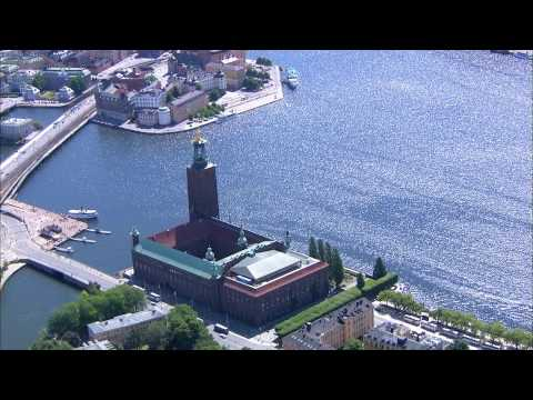 Stockholm, Sweden. Aerial view.