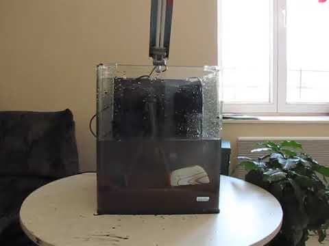 Installation d 39 un aquarium youtube for Aquarium boule 20 litres