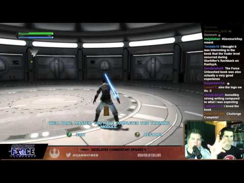 STAR WARS: THE FORCE UNLEASHED Ep 3 - Sam Witwer and David Collins