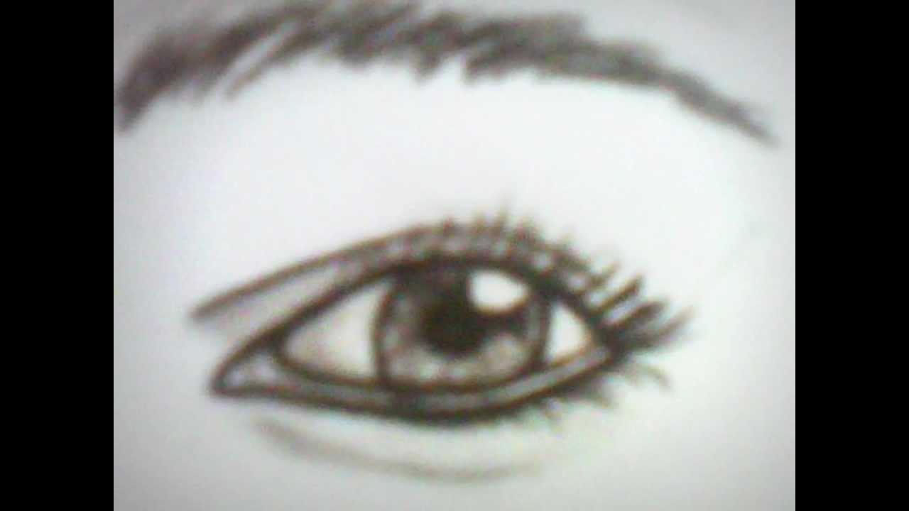 Dessin oeil qui pleure youtube - Dessin oeil facile ...