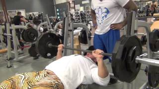 ANTOINE VAILLANT - MIKE JOHNSON - QUEBEC TOUR - ATLANTIS GYM