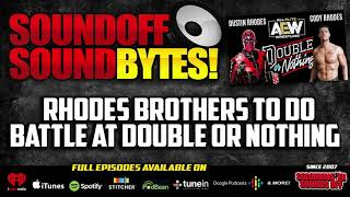 The RHODES BROTHERS Do Battle At AEW Double Or Nothing