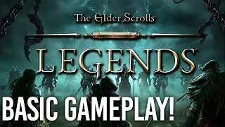 Elder Scrolls Legends - Basic Gameplay/UI Guide!