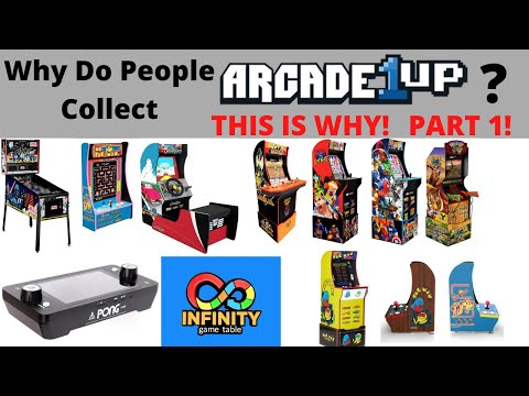 Arcade1up:  Why do you want to get Arcade1up cabinets - Part 1 from PsykoGamer