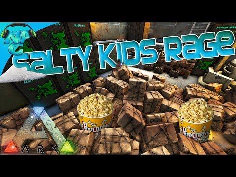 ARK Raid - Salty Kids Rage: Popcorn for Everyone! ARK Ragnarok PVP E23