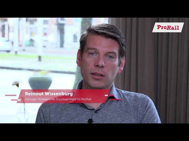 Week van de circulaire economie - Reinout Wissenburg over circulariteit in de ProRail-genen| ProRail