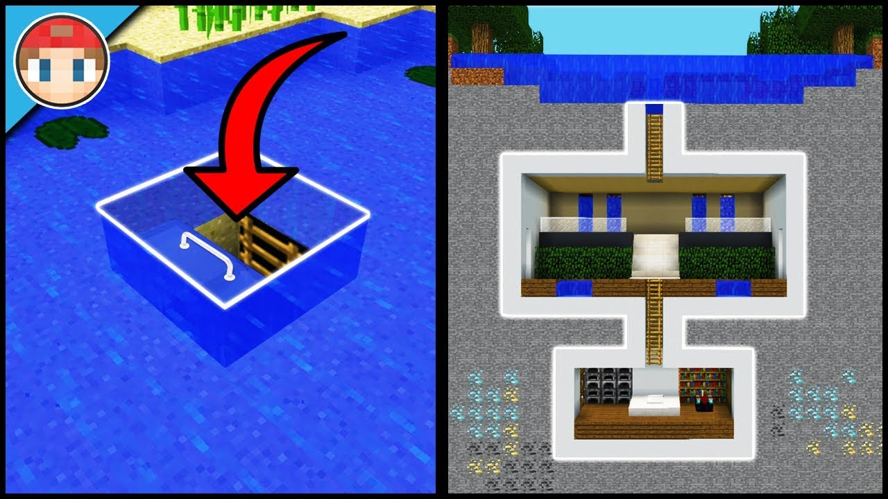 how to make a underwater house