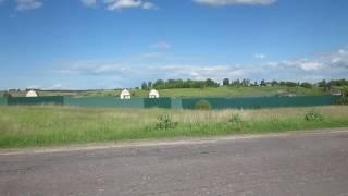 Берег озера в Павловичах загорожен