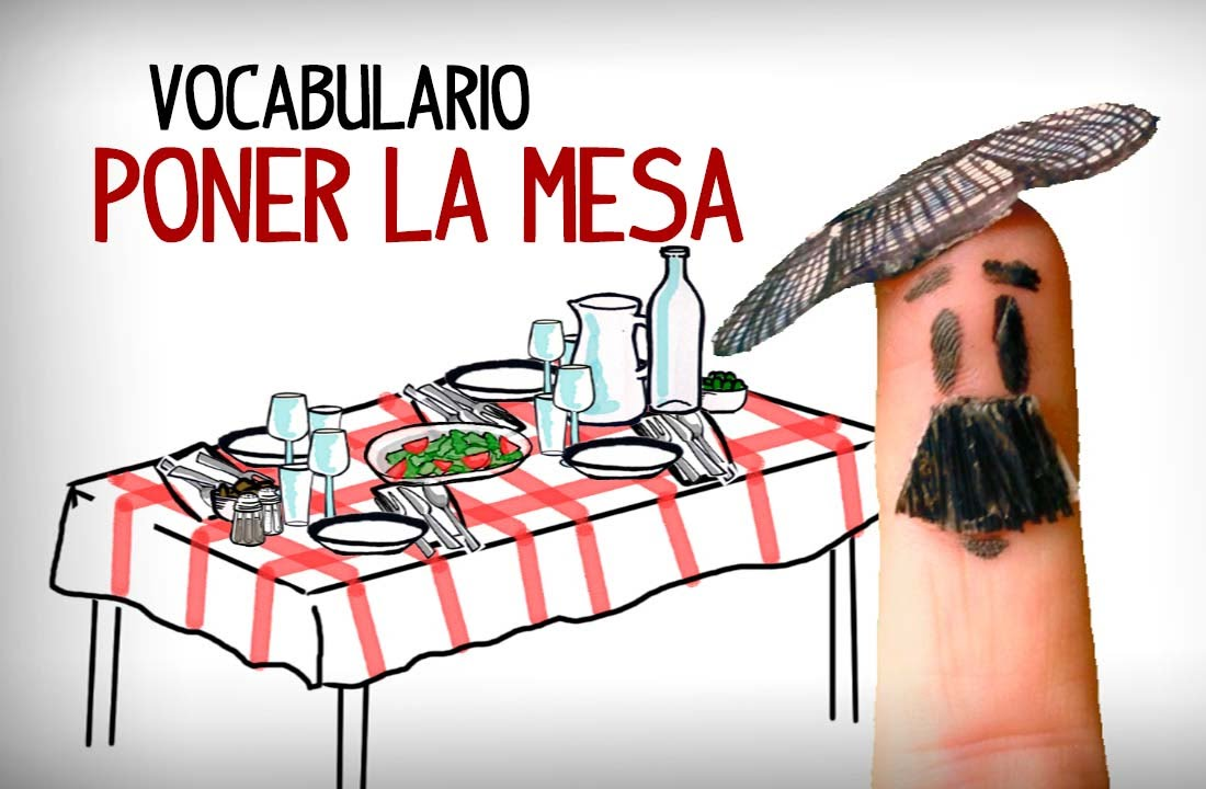 Set the table in spanish dinning table vocabulary youtube for A table en espagnol