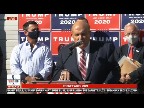 Trump Campaign Holds Press Conference in Philadelphia, PA