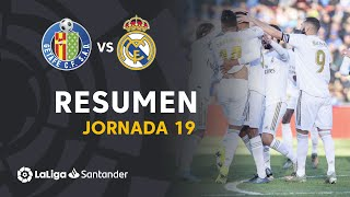Resumen de Getafe CF vs Real Madrid (0-3)