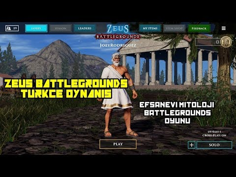 MITOLOJIK BATTLEGROUNDS - Zeus Battlegrounds Türkçe Oynanış - Gameplay