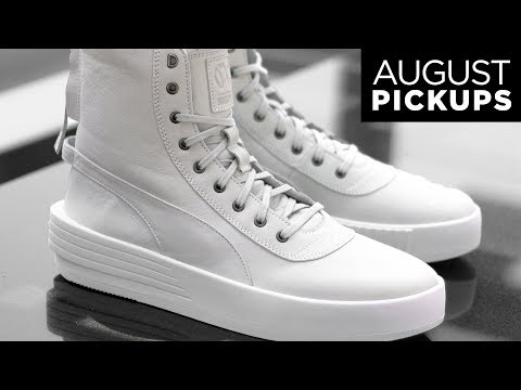 PUMA x The Weeknd XO Parallel Sneaker Boot Unboxing | August Pickups | StyleOnDeck