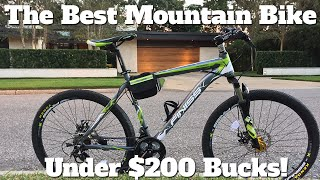 Best Mountain Bike Under $200 - Merax Finiss Review