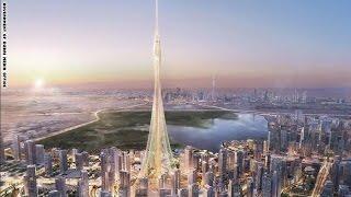 حاكم دبي يطلق بناء أطول برج في العالم