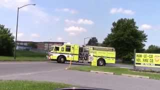 Gas Odor | East Allen Township, PA | Lehigh County Station 33 | 06.22.14
