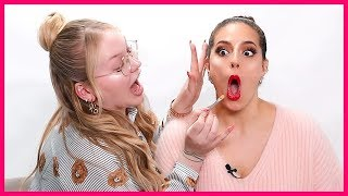 DOING ASHLEY GRAHAM'S MAKEUP!!