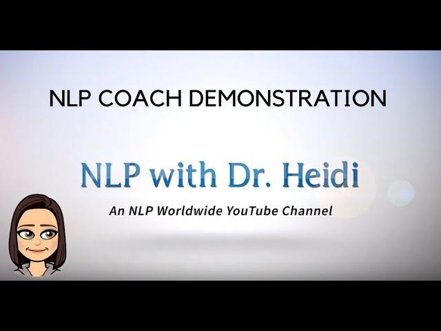 NLP Coach Demonstration II - April 2019