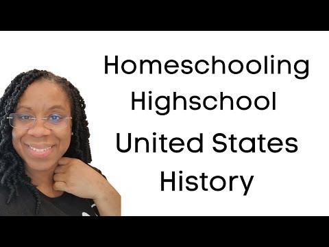 Homeschooling High School US History
