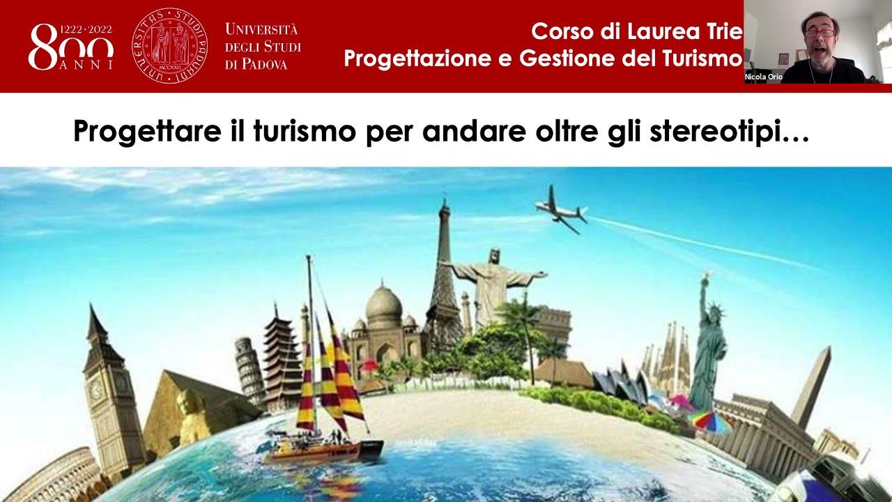 Presentazione del Corso di Laure Triennale in PGT - Università degli Studi di Padova