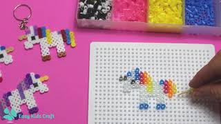 Hama Bead Mini Unicorn | Easy Kids Craft