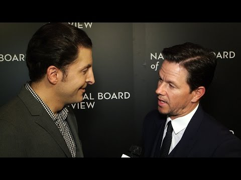 Mark Wahlberg at the National Board of Review Gala Behind The Velvet Rope