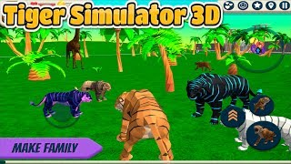 🐅Tiger Simulator 3D- By CyberGoldfinch-📱Android-Help To Save The Tigers