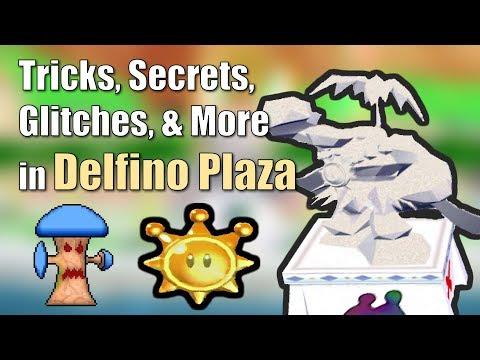 Tricks, Secrets, Glitches, & More in Delfino Plaza in Super Mario Sunshine