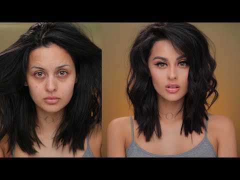 Sweatproof Makeup and Styling My Lob Tutorial