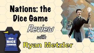 Nations: the Dice Game Review - with Ryan Metzler