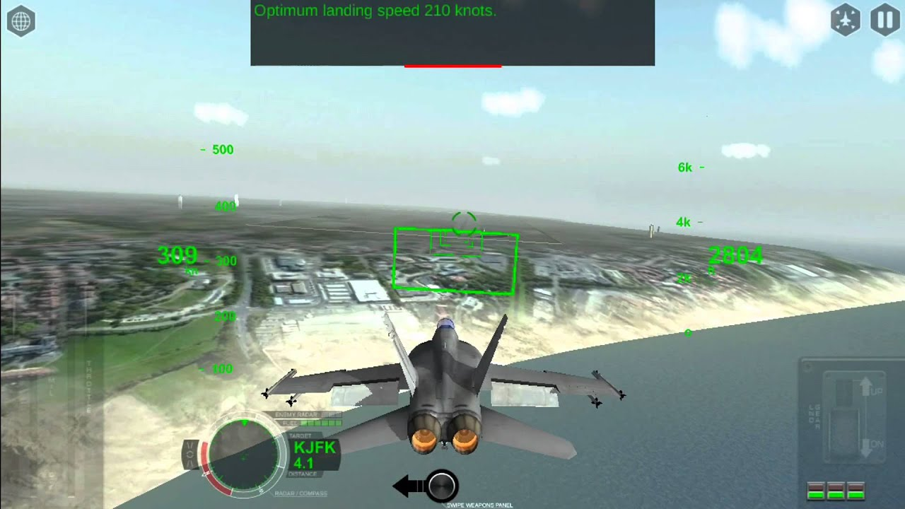 Air Fighters Pro by Rortos/Training/Tutorial / landing / Gameplay/Iphone/