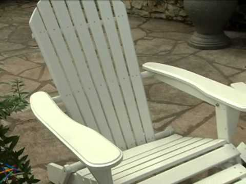 big daddy adirondack chair bean bag refill target with pull out ottoman white product review video
