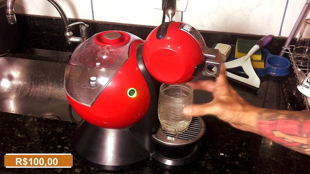 ef2e23034 Cafeteira Dolce Gusto Melody Modelo PJ2106B1 com defeito - YouTube