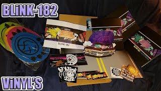 Unboxing Blink 182 'California' Deluxe CD & Vinyl Unboxing (All 4 Vinyl Colorways!)