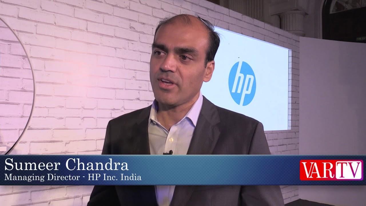 Sumeer Chandra - Managing Director - HP Inc  India