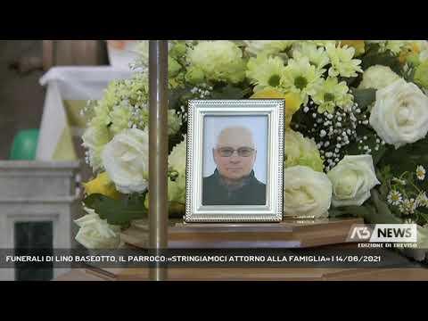 FUNERALI DI LINO BASEOTTO, IL PARROCO:«STRINGIAMOCI ATTORNO ALLA FAMIGLIA» | 14/06/2021