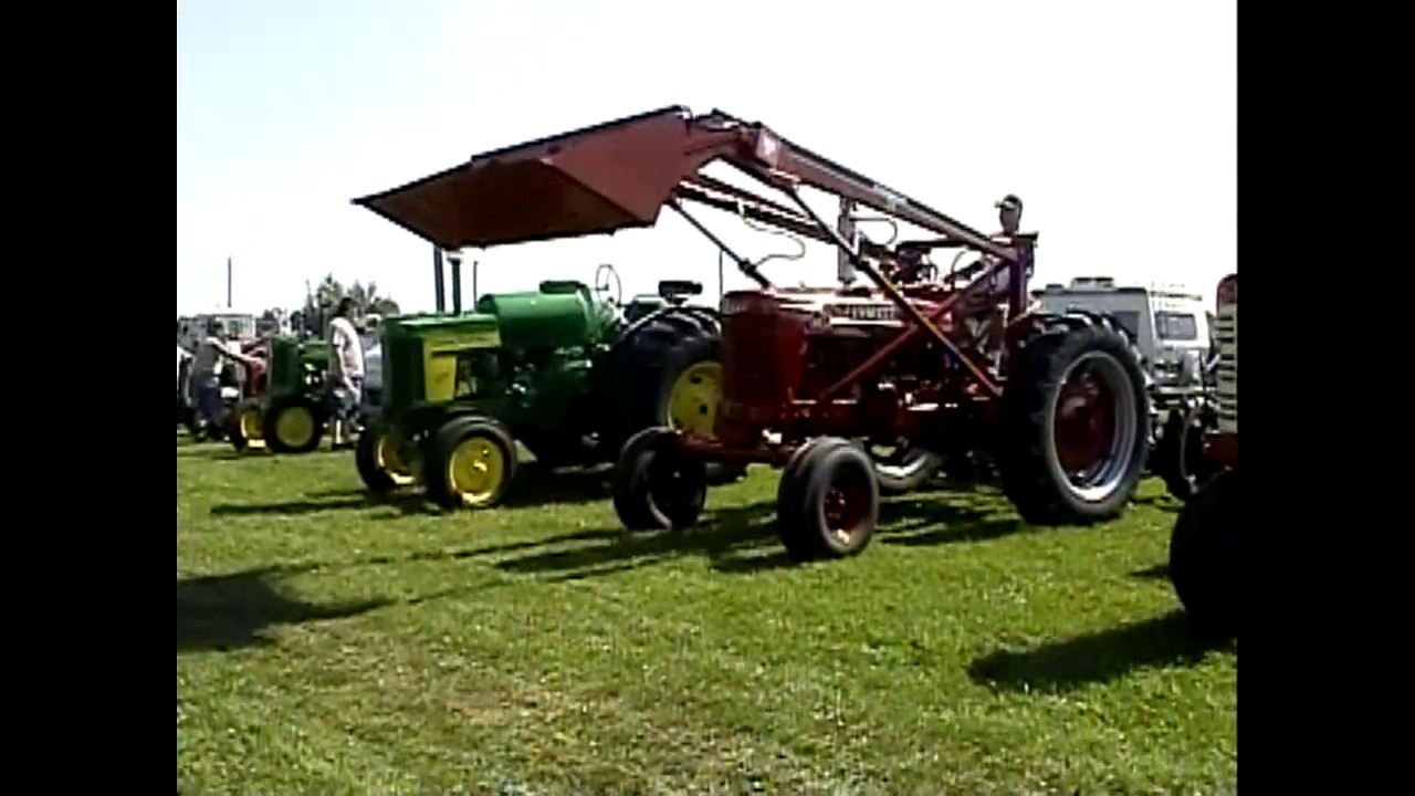 Antique Tractor Show  7-12-08